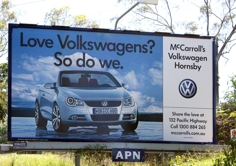 Love-VW-billboard