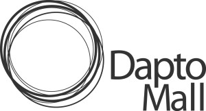 Dapto Mall Logo horz grey